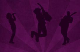Rock Musician Silhouettes