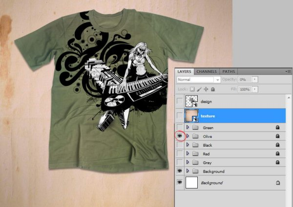 How To Use T-Shirt Mockup