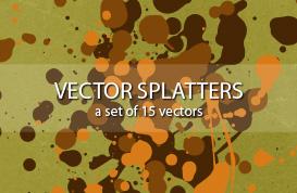 Ink Splatter Vectors